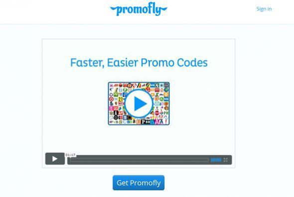 Promofly (getpromofly.com)  Este sitio también hizo un buen trabajo al e...