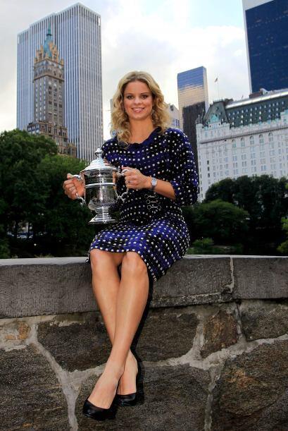 Puesto 5: La belga y ganadora del US Open, Kim Clijsters mantiene la qui...