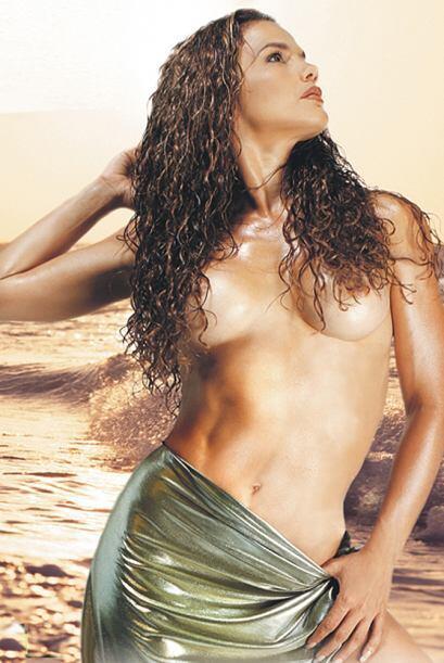 Niurka siempre ha hecho mucho ejercicio como bailarina y su cuerpo es na...
