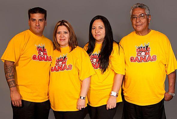 Los Yepes están conformados por Santiago, Nelly, Samara y Don Ped...