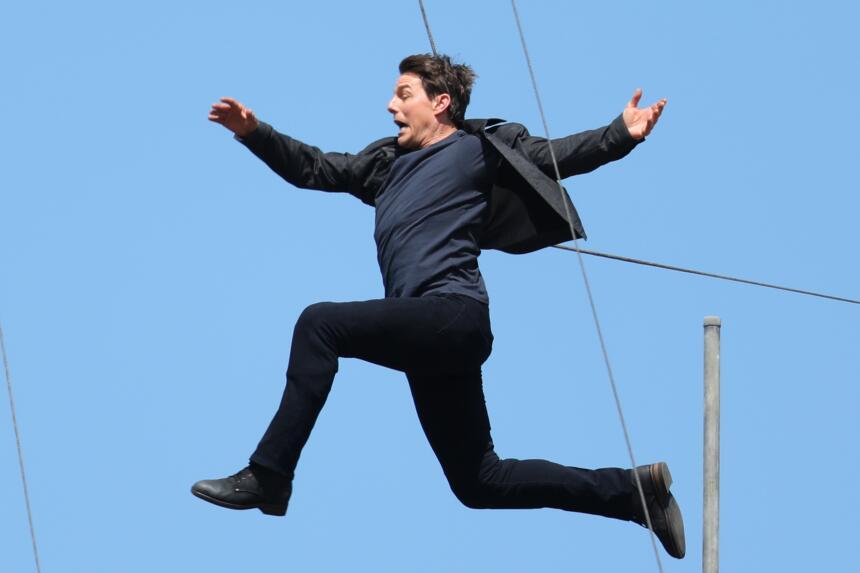 Tom Cruise se fracturó un tobillo, confirmó Paramount Pictures.