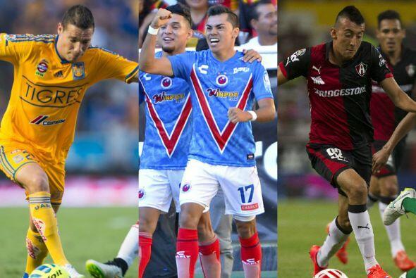 La jornada 16 del CL2015 de la Liga MX dejó tres clasificados a l...