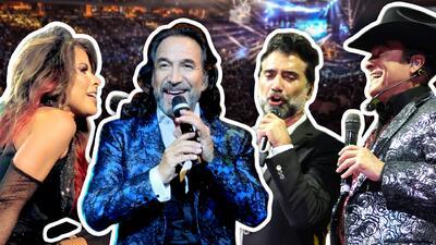 Cantantes mexicanos tienen exitoso fin de semana en Estados Unidos y Puerto Rico