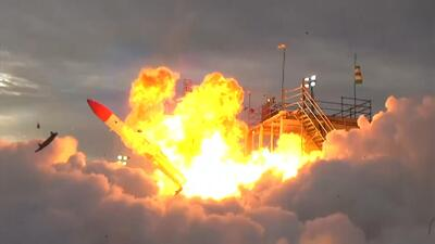 En video: Un cohete japonés cae a tierra segundos luego de despegar