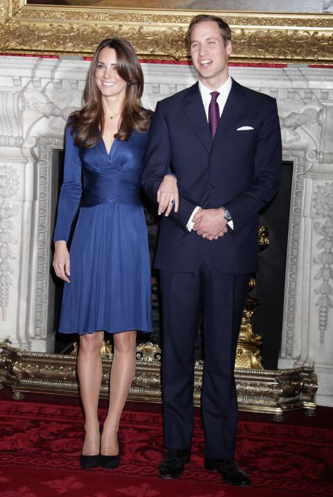 Otra joya que usa actualmente Kate Middleton es el anillo de la princesa...