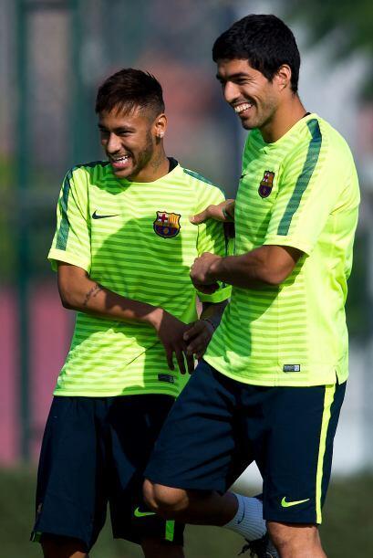 """Y el propio Neymar validó su rápida inclusión en el equipo. """"Luis es un..."""