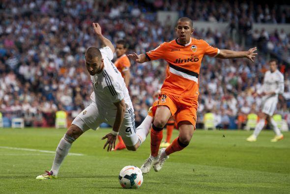 Real Madrid jugaba su partido de la penúltima fecha de la Liga española...