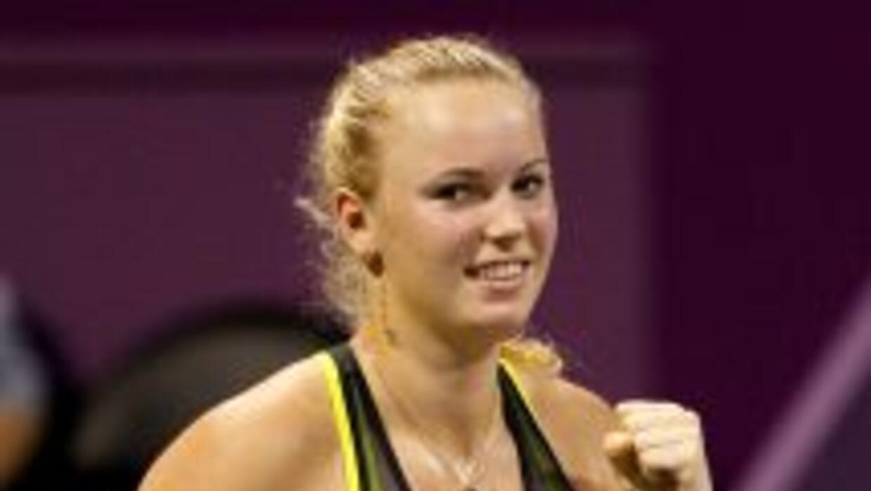Caroline Wozniacki es la primera jugadora danesa que consigue este galar...
