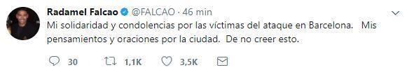 El mundo del deporte se solidariza con las víctimas de Barcelona BCN29.JPG