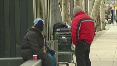 Aumenta la cifra de personas desamparadas en las calles de Nueva York