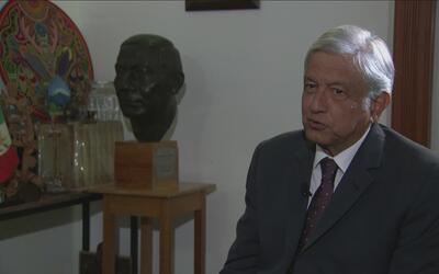"""López Obrador: """"Trump le ha faltado el respeto a la diplomacia"""""""