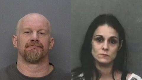 Fred Sanderson y Johanna Knighten fueron acusados de secuestrar a una mu...