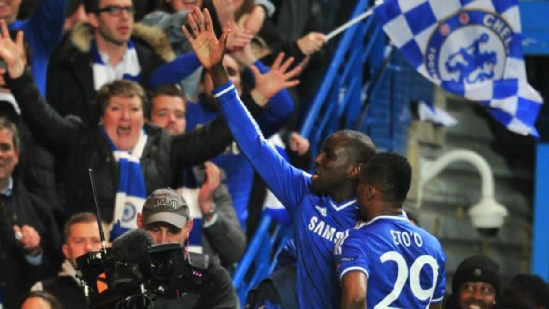 Demba Ba respondió a las críticas de José Mourinho anotando el gol que c...