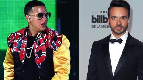 Daddy Yankee canta junto a Luis Fonsi el exitoso tema 'Despacito'.