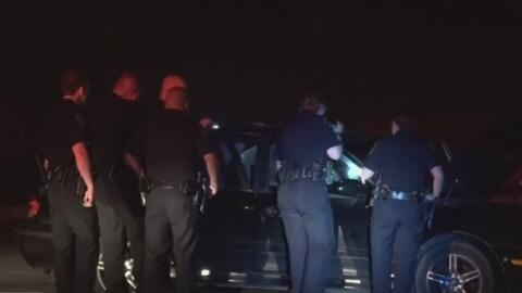 La policía busca al conductor responsable de protagonizar una persecució...