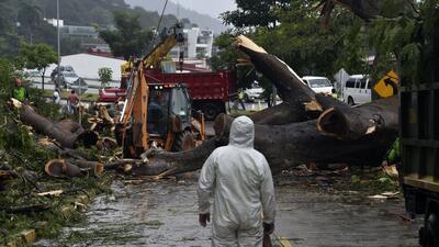 En fotos: El paso del huracán Otto por Panamá