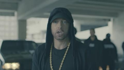 Eminem en su rap 'The Storm' contra Donald Trump.
