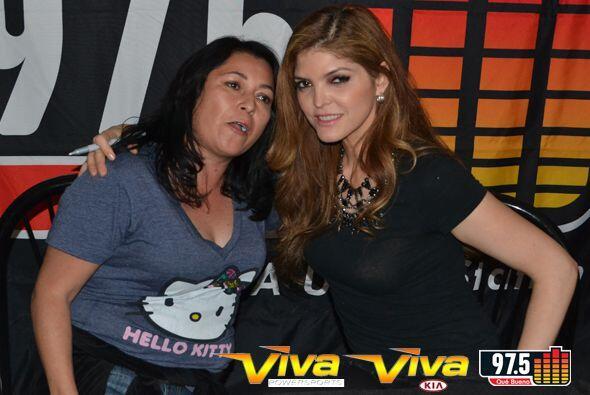 Ana Bárbara fue nuestra invitada especial en La Que Buena Feria de Salud...