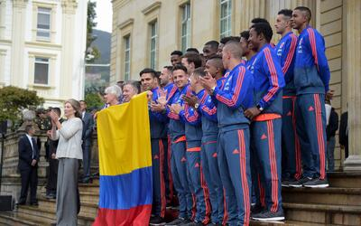 La selección colombiana de fútbol que participará e...