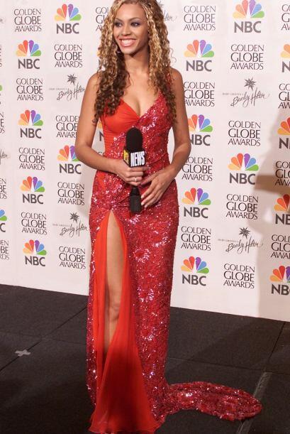 La alfombra se llenó de 'glamour' con este modelito de Beyonc&eac...