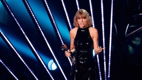 Taylor Swift en los iHeartRadio Music Awards.