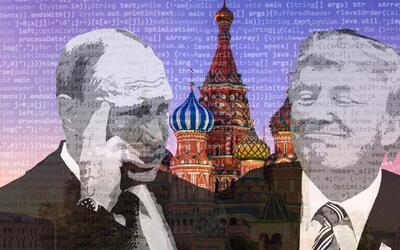 Presidente de Rusia Vladimir Putin y el presidente de EEUU Donald Trump...
