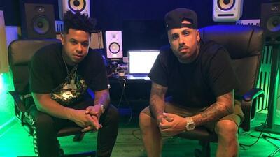 Miguel 'Fuego' Durán y Nicky Jam esperan todas las 'buenas vibras' para el estreno de su tema 'Good Vibes'
