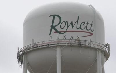 Un ícono de la ciudad de Rowlett está a punto de ser derrumbado