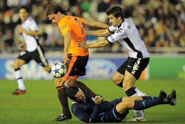 El Valencia también avanzó a Octavos en el mismo grupo del Manchester.