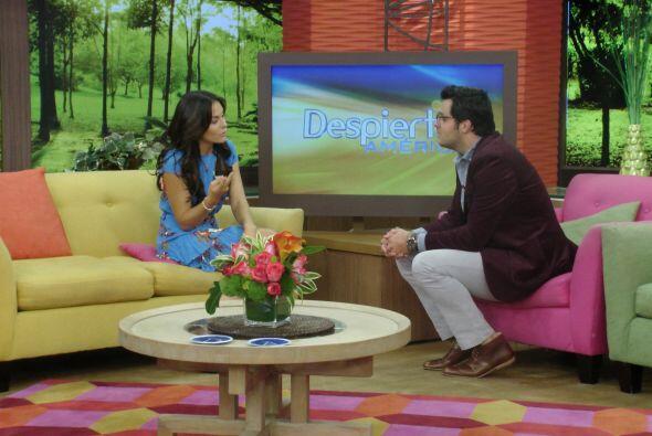 También nos visitó Zuria Vega, protagonista de la exitosa telenovela 'Qu...