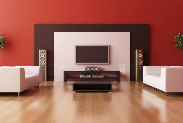 2. No hacerle lugar a la TV. Es común pasarlo por alto al decorar la cas...