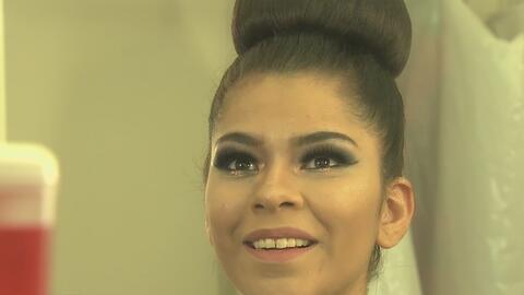 Jessica Sánchez, representante de Veracruz, fue elegida reina de las Fie...