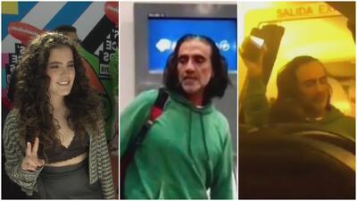 Hija de Alejandro Fernández defiende a su padre por el momento en el que causó pánico a los pasajeros de un avión