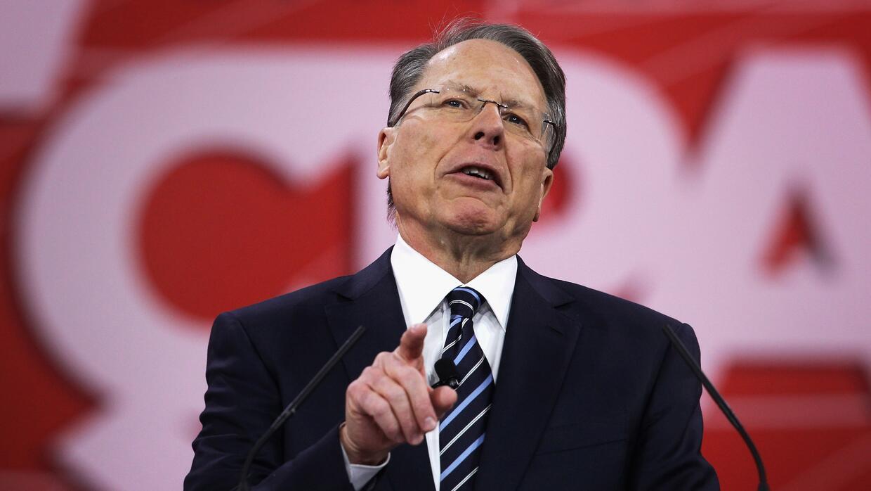 Wayne La Pierre, vicepresidente ejecutivo de la NRA