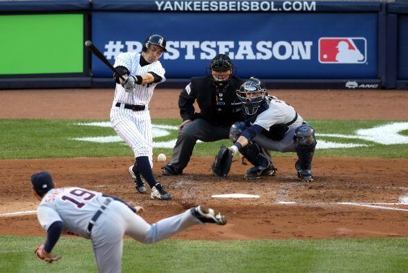 Pésimo partido al bat para los noeyorquinos, que solamente pudieron cone...