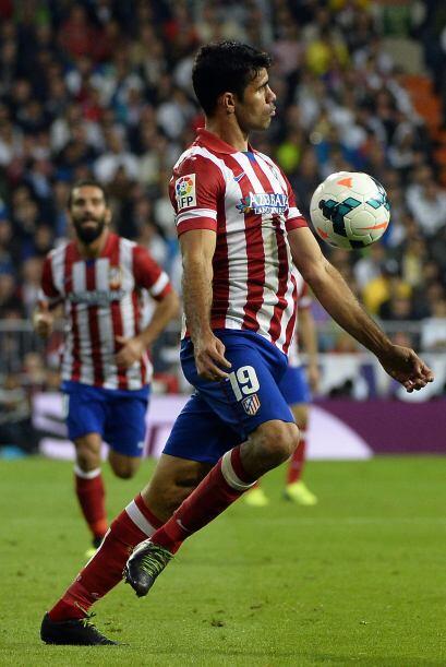 Diego Costa fue la figura del partido con el gol del triunfo y con su de...