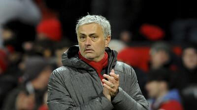 4. Jose Mourinho (Chelsea, Manchester United) - 63,4% de victorias en 27...