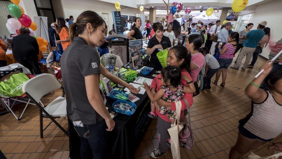 Varias organizaciones y clínicas se unieron para ayudar a la comunidad.