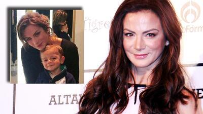 Silvia Navarro asegura que su hijo León ya le da consejos de todo tipo (hasta de actuación)