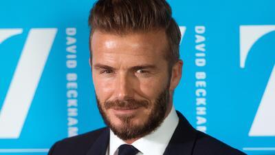 David Beckham se unió a UNICEF para ayudar a los más jóvenes