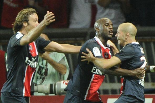 El PSG enfrentó al Lyon y ganaba con lo mínimo, hasta que Jallet marcó e...