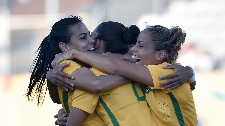 Brasil avanzó a la final del torneo de futbol femenil de los Juegos Pana...
