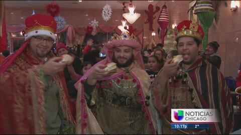 Rica tradición del Día de Reyes en Chicago