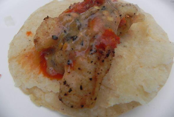 1. Tacos de pescado