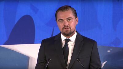 Leonardo DiCaprio invita a cuidar los océanos con una nueva tecnología