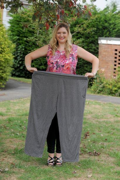 Después de su embarazo perdió el peso increíblemente rápido, la primera...