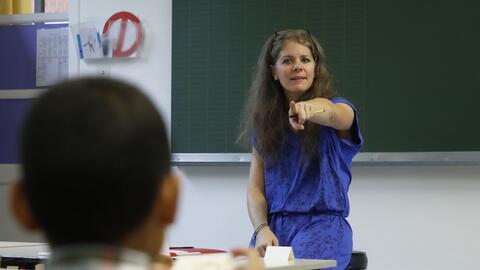 Casi la mitad de todos los maestros reportan sufrir mucho estrés...