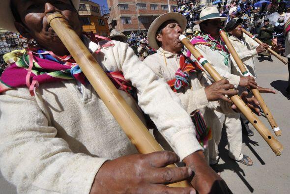 La fiesta de Oruro reúne a miles de turistas.