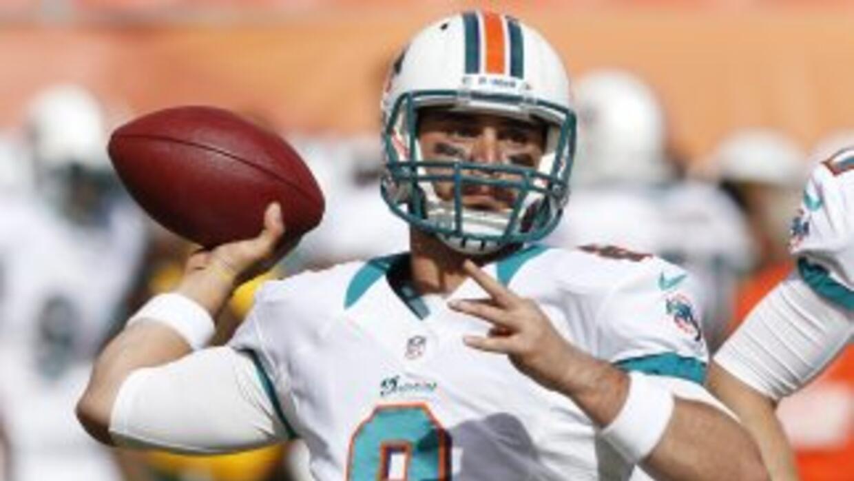 Matt Moore quiere ser quarterback titular en la NFL.