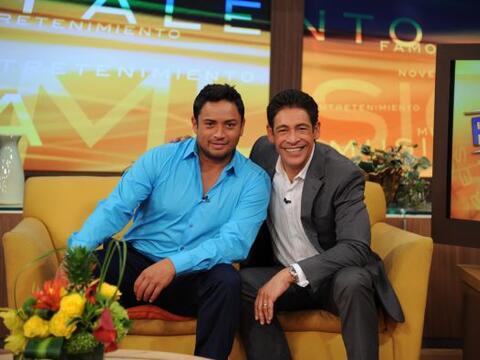 Manny Manuel y Johnny Lozada, dos puertorriqueños muy orgullosos,...